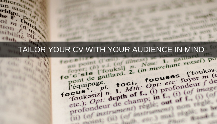 Writing Your CV Seek Getting the balance right in your CV