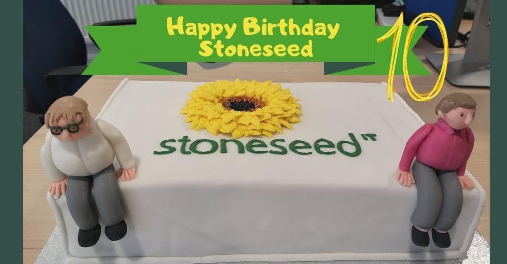 Happy tenth birthday Stoneseed