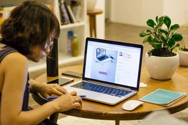 distance learning - studying at home